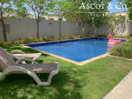 Amazing 3 Bed | Large Private Pool | Close to Child Park