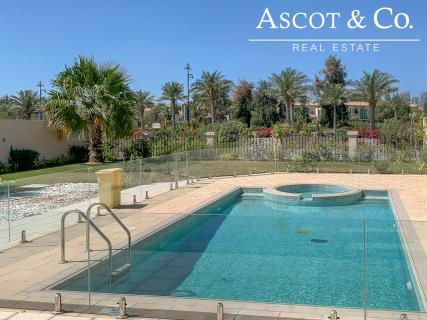 Lake & Skyline View | Close To Clubhouse | 4 Bed+Maids